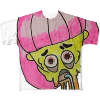 もう限界きてるぅ Full graphic T-shirts