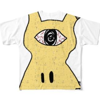 単眼ミミッキュ フルグラフィックTシャツ