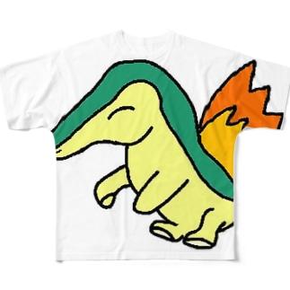 ポケモン 炎のヒノアラシ フルグラフィックTシャツ