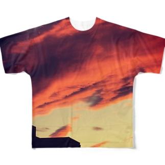 tasogare フルグラフィックTシャツ