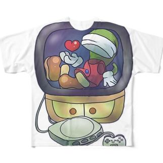moon フルグラフィックTシャツ