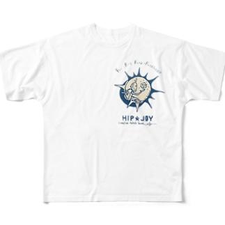 ロボとフィボナッチ数列 Full graphic T-shirts
