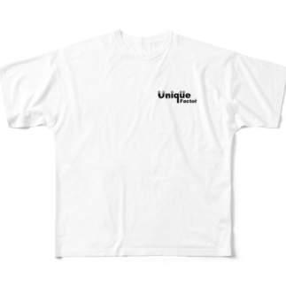 unique factor Full graphic T-shirts