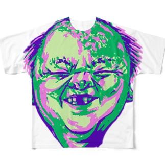 HIFUMIN フルグラフィックTシャツ