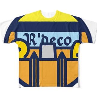 パ紋No.3144 R'deco  Full graphic T-shirts