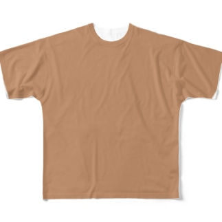 ARuFaの乳首色 Full graphic T-shirts