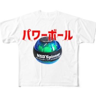 パワーボール フルグラフィックTシャツ