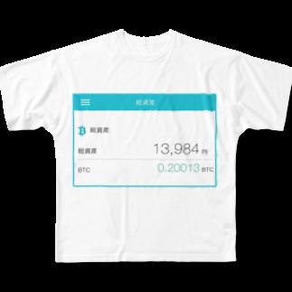 nuwtonの総資産13,984円フルグラフィックTシャツ
