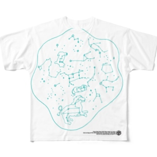 SEIZA DAMARI フルグラフィックTシャツ