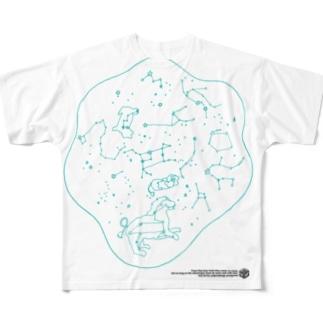SEIZA DAMARI Full graphic T-shirts