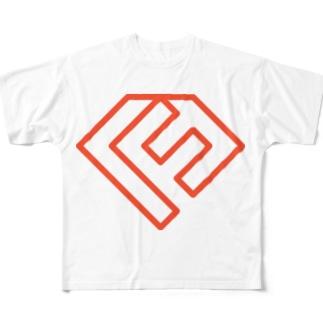福岡Ruby会議02 ロゴマーク フルグラフィックTシャツ