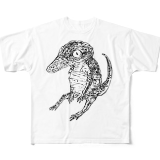 すわるわに Full graphic T-shirts