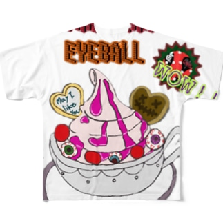 STRAWBERRY EYEBALL Full graphic T-shirts