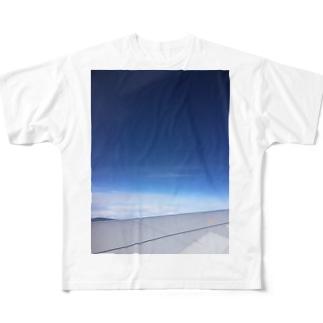 宇宙空 Full graphic T-shirts