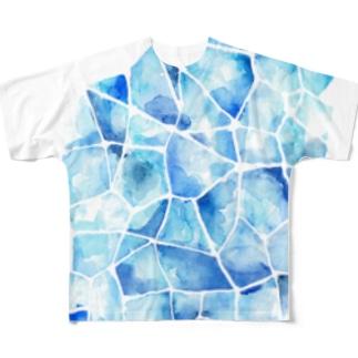 透 Full graphic T-shirts