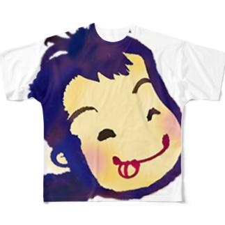 かしゅっち フルグラフィックTシャツ