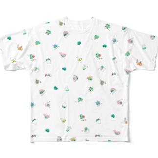 ぴっぴ フルグラフィックTシャツ