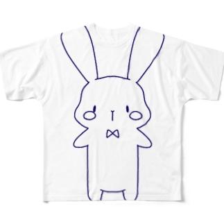 うさぎさん(2) Full graphic T-shirts