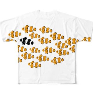 クマノミ Full graphic T-shirts