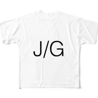 J/G フルグラフィックTシャツ