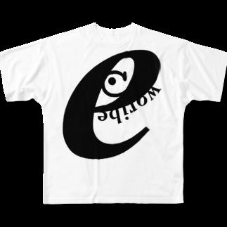 @折部.壊子(オリブ)のいーとうか フルグラフィックTシャツ