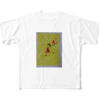 dancin' girl Full graphic T-shirts