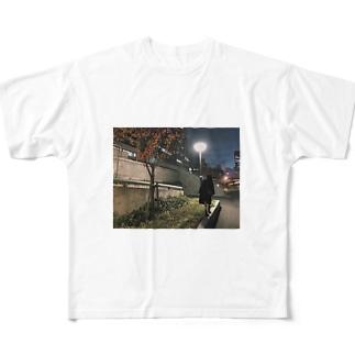 ステッカー Full graphic T-shirts