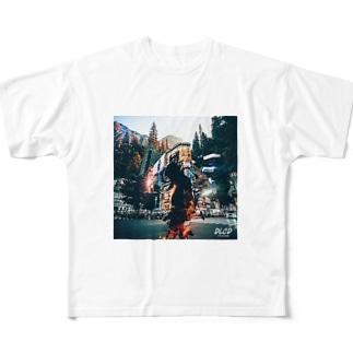 FIRE SHIBUYA Full graphic T-shirts