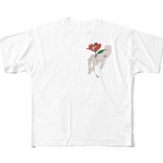 おはなをどうぞ フルグラフィックTシャツ