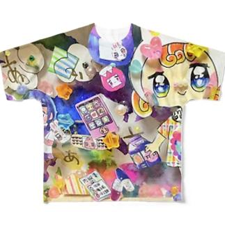 ゆめのなか Full graphic T-shirts