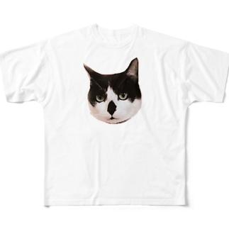 福ちゃんラファエル Full graphic T-shirts