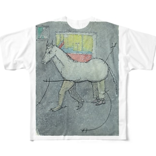 a wrong horse フルグラフィックTシャツ