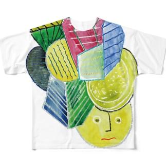 あたまににもつ Full graphic T-shirts