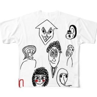 場7  2 フルグラフィックTシャツ