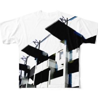 FLAT フルグラフィックTシャツ