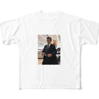 営業マン Full graphic T-shirts