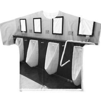 ダイキノ ノ トイレ Full graphic T-shirts