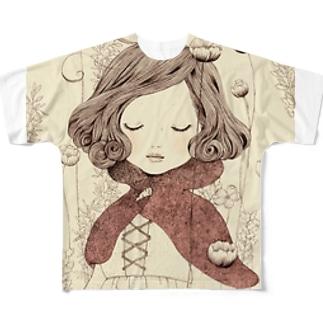 赤ずきん フルグラフィックTシャツ