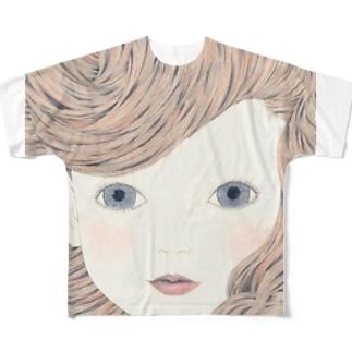 ポーカーフェイス フルグラフィックTシャツ