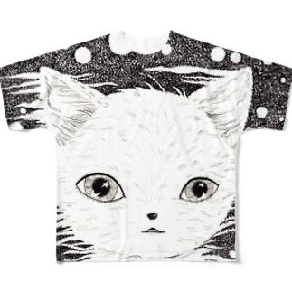 夜に溶けている フルグラフィックTシャツ