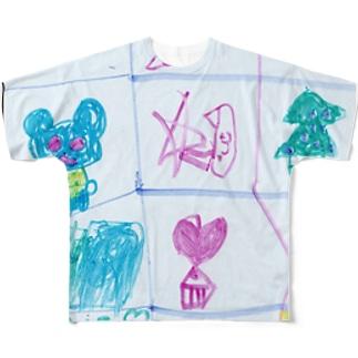 クリスマスのうた(Karin) フルグラフィックTシャツ