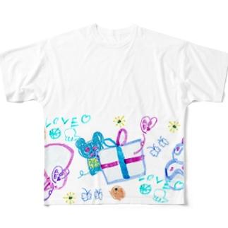 プレゼントのゆめみたの(Karin) フルグラフィックTシャツ