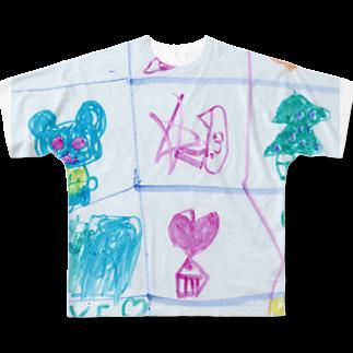 橋本京子のクリスマスのうた(改)(Karin) フルグラフィックTシャツ
