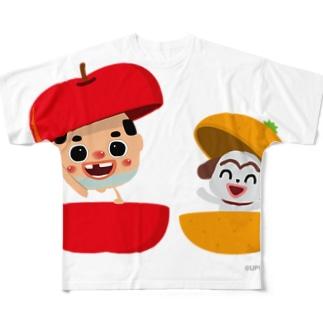ちっちゃいおっさん(果物) フルグラフィックTシャツ