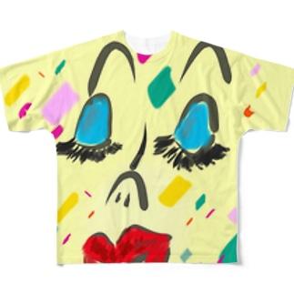 confetti Full graphic T-shirts