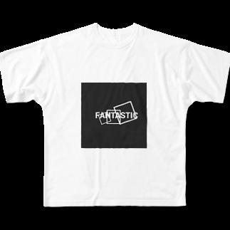 晴田書店のFANTASTIC Full graphic T-shirts