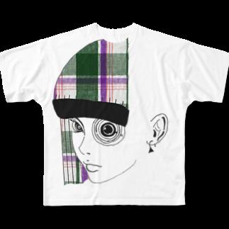 LAHのcheckeyフルグラフィックTシャツ