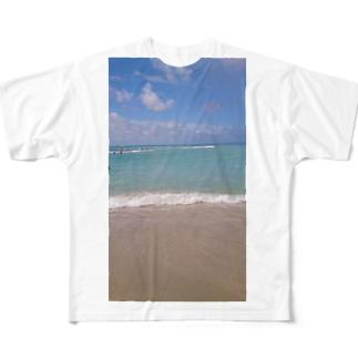 ハワイ Full graphic T-shirts