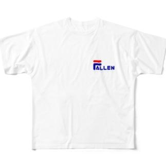FALLEN フルグラフィックTシャツ