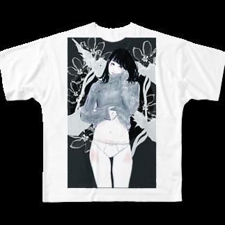 タナカ ヒロキのサンカヨウ フルグラフィックTシャツ